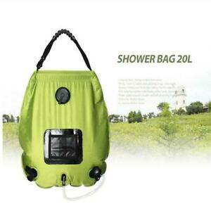 20L Outdoor Portable Solar Camping PVC Shower Bag 032069