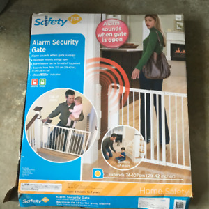 Security Alarm Baby gate