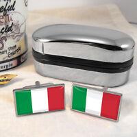 Italia Gemelos Bandera Y Caja -  - ebay.es