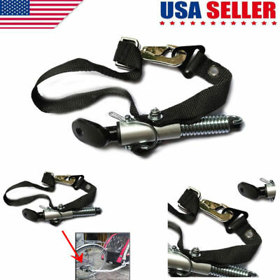 Universal Bicycle Trailer Coupler Attachment Hitch Quick Release Steel Linker US