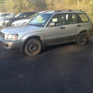 2004 Subaru Forester only 111000kms