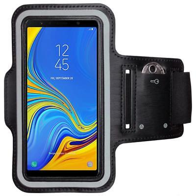 CoverKingz Samsung Galaxy A7 (2018) Sportarmband Handy Armband Jogging Hülle
