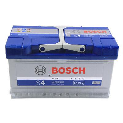 S4 110 Car Battery 4 Years Warranty 80Ah 720cca 12V Electrical - Bosch S4010