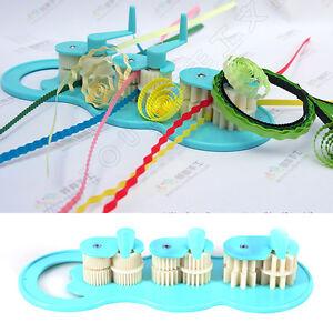 Paper Quilling Crimper Machine Crimping Paper Craft Quilled Tool DIY Art UK