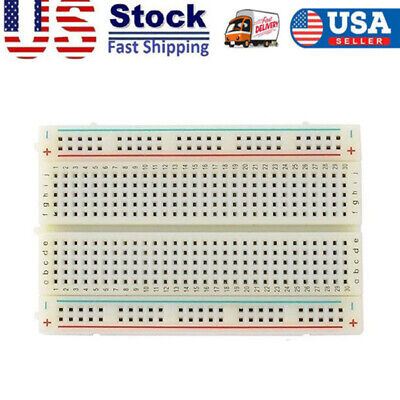 Breadboard Solderless 830 Cable Pcb Protoboard Board Test Reusable Tool