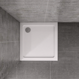 Aica stone gel coated shower tray