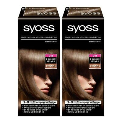 syoss Professional Hair Color Sautey Cover 2ea champagne beige