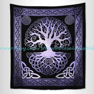 bathroom wall decor celtic pagan hippie tree of life wall tapestry
