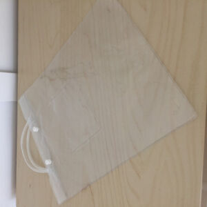 Lot of 100 clear vinyl bags for small business product package
