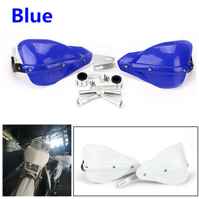 Blue Handguard Hand Guard+Fitting Kit For Motorcycle Motorbike Dirt Bike Quad