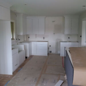 New Kitchen Cabinets with Island