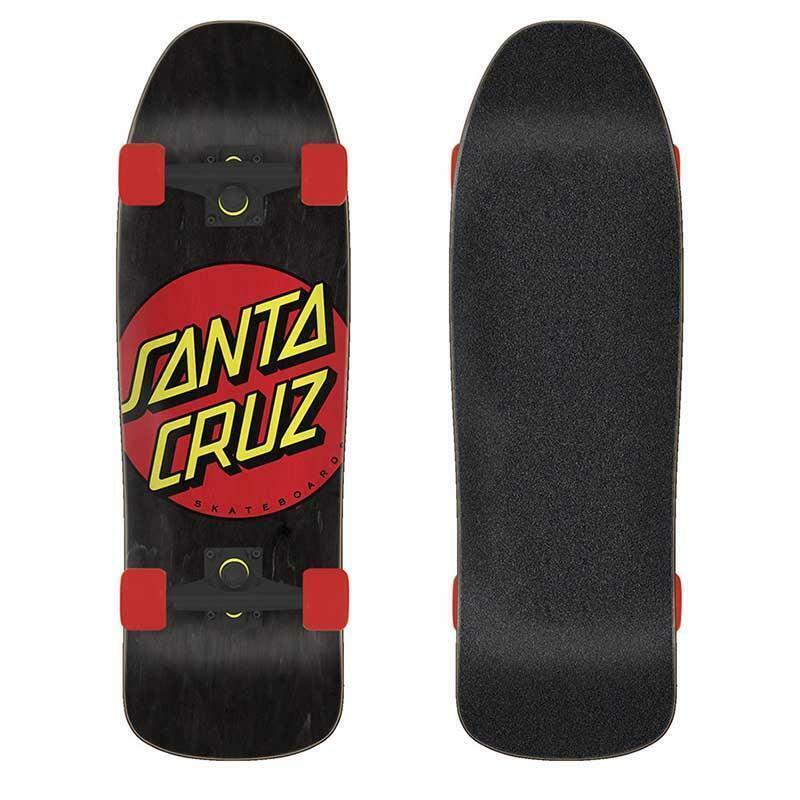 Santa Cruz Classic Dot 80s Cruiser Complete 9.35 x 31.7 Skateboard, New!