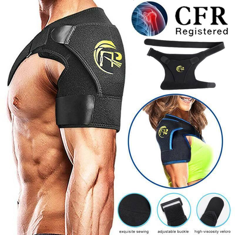 CFR Adjustable Shoulder Support Brace Compression Joint Wrap