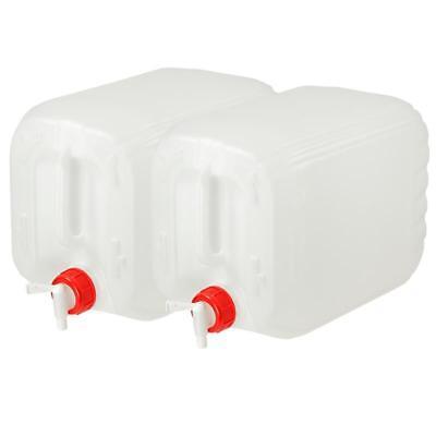 2 x 30 L Behälter Plastikeimer Kanister Wasserbehälter Box Camping /& Outdoor.