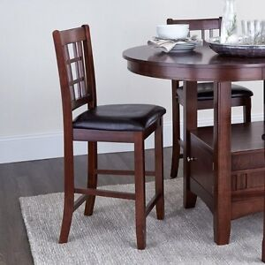 Brand New Serena 5 Piece Pub Height Dining Set