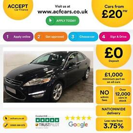 Ford Mondeo 2.0TDCi 140 2011MY Titanium FROM £25 PER WEEK.