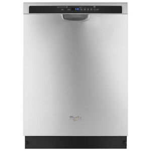 """Whirlpool 24"""" Built-In Dishwasher with Stainless Steel Tub New"""