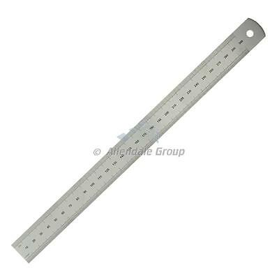"""300mm/ 12"""" Rule Moore and Wright Precision Steel Ruler Metric/ Imperial ER112"""