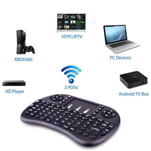 Mini Keyboard-Remote Control and Touchpad Function Rechargeable