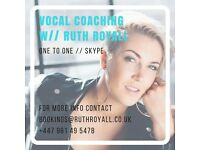 Singing Lessons with Ruth Royall