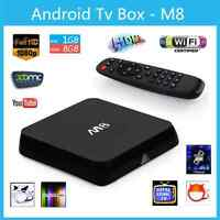 M8 Android tv box