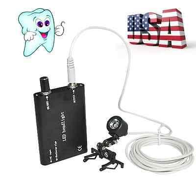 Dental Portable Led Head Light Lamp For Dentist Dental Binocular Loupes