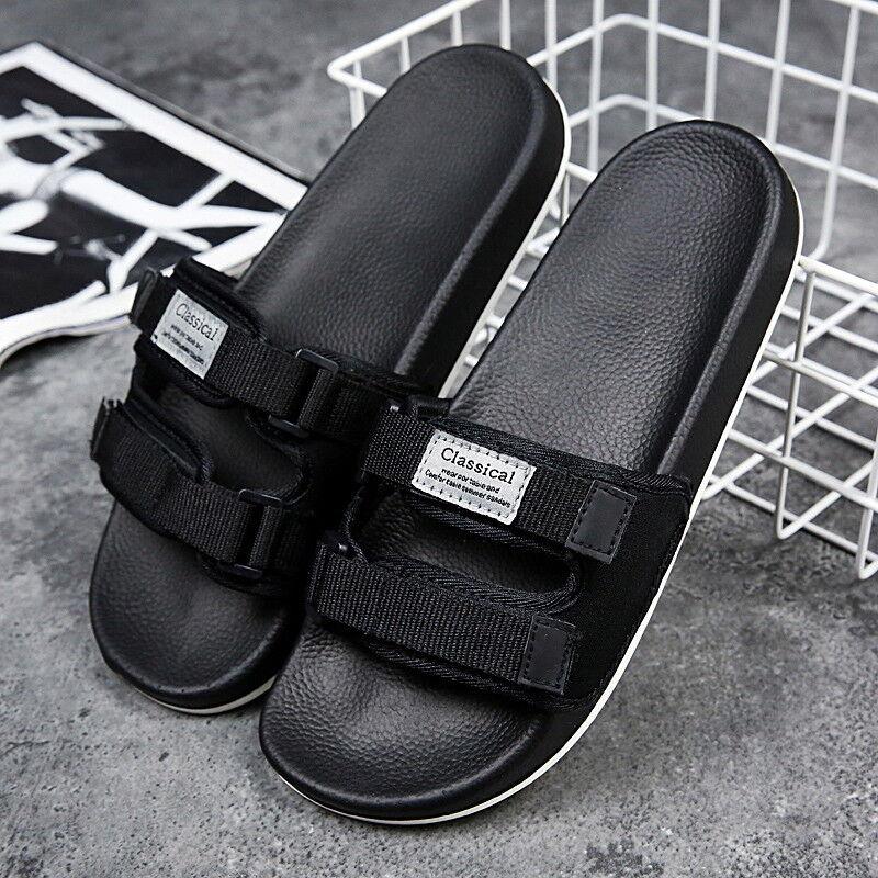 Men Slippers Garden Shoes Home Slides Indoor Non-slip Sandals Sneakers Fashion