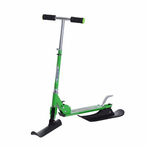2in1 Convertible All-weather Kids Snow Scooter w/ Wheels Blades