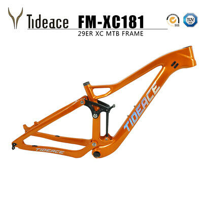 Tideace 2019 Cross Country Carbon Full Suspension Mountain Bike Frames BB92 (Best Mountain Bike Frames 2019)