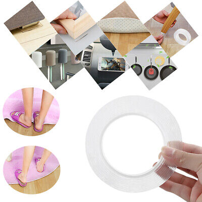Multi-function Double-sided Adhesive Nano Tape Washable Removable Tapes