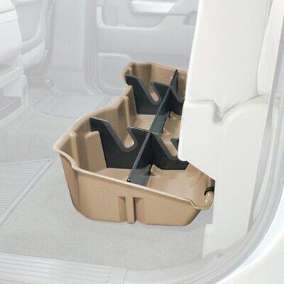 DU-HA 10302 Underseat Storage for Silverado Sierra 15-18 LD HD Crew Cab  Tan