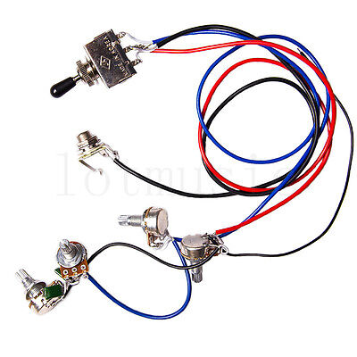 USD 954 Electric Guitar Wiring