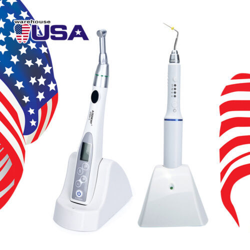 US Wireless Endo Motor 16:1 Reduction Contra Angle / Obturation Pen Treatment