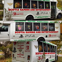 Scotia Gaming Party Bus And Toy Shop