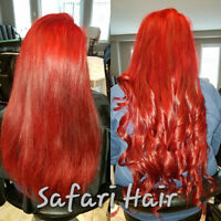 ** Premium & Custom Colour Hair Extensions Available **