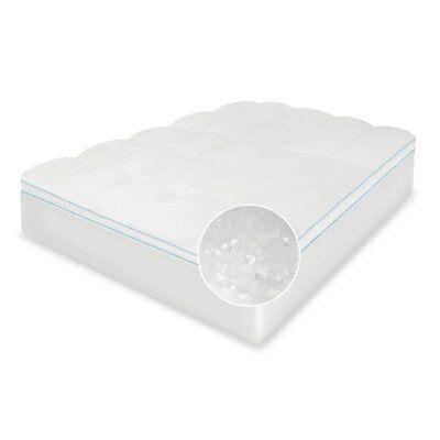 gel fusion mattress topper white twin