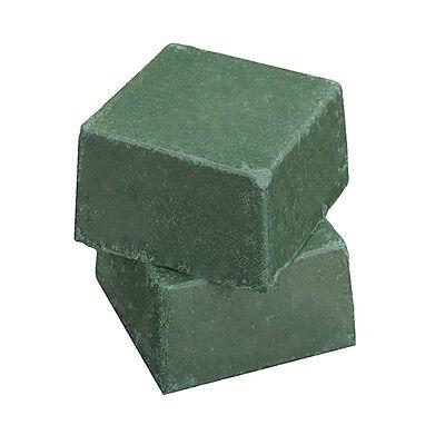 Green Leather Strop Sharpening Honing Compound 35g 3cm x 3cm x 1.8cm