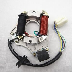 ignition stator magneto plate for chinese 50cc 110cc 125cc. Black Bedroom Furniture Sets. Home Design Ideas