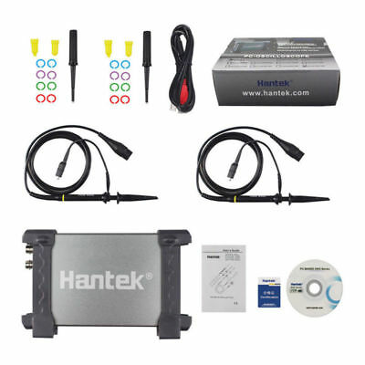 Hantek 6022be Storage 2ch Fft Usb Pc Digital Oscilloscope 48msas 20mhz 8 Bit