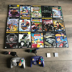 Gamecube games / controllers / memory cards for sale