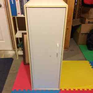 4 Assorted White Storage Cabinets - FREE