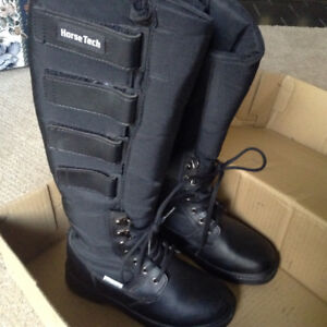 Horse tech insulated riding boots