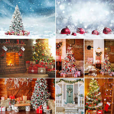 Merry Christmas Photography Backdrops Family Photo Shoot Props Xmas Background - Merry Christmas Photo