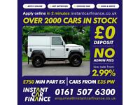 Land Rover 90 Defender 2.2TD 2015MY XS FROM £156 PER WEEK