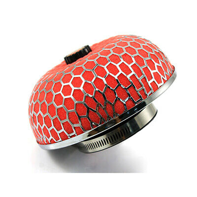 Air Filter Mushroom Style 3inch High Flow Washable Filters Performance Red