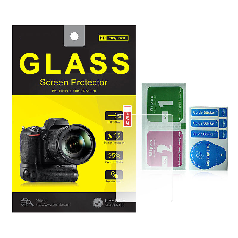 Tempered Glass Screen Protector for Sony Alpha A6300 A6000 A5000 A6400 NEX7/6/5