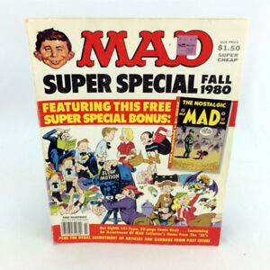 Vintage Mad Magazine Fall 1980 Super Special 80s Single Issue