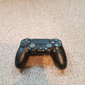 Used, PS4 Dualshock Black (Left thumbstick is stiff) for sale  West Bridgford, Nottinghamshire