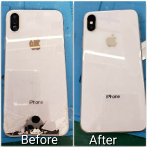 IPHONE BACK GLASS REPLACEMENT - ALL IPHONE MODELS - BEST PRICE