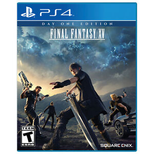 Final Fantasy XV Day One Edition - PS4 - New / Sealed